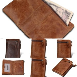 W6yClutch travel Men LEINASEN wallet Wallet Pocket Coin withZipper Business Male Large Capacity
