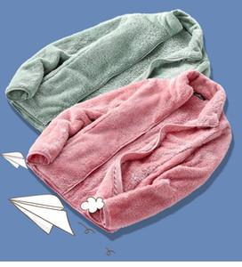 Winter women's polar fleece coral fleece jacket women outdoor warmth padded cardigan plush sweatshirt women pink hoodie 201026