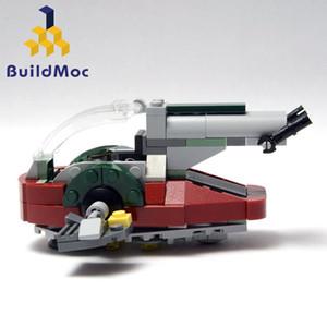 BuildMOC Universe 75060 Wars-Raum New Slave I 20373 Baukästen Blöcke kompatibel Spielset Kit Geschenke Modell mit Groß Rgvbj