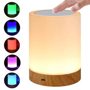 Smart Bedside Lamp Lampada da tavolo Lampada da tavolo Amicizia Amicizia Creativo Desk Desk Light For Bedroom Comodino Lampe Letto Letti notte Luci notturne EWE2222