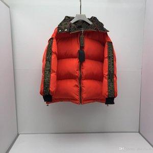 Designers Marchi inverno donne / uomini di F lettera Outerwear Coats Giù Giubbotti pesanti Doudoune parka Outwears