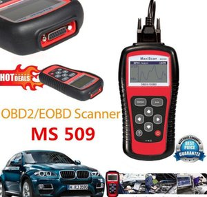 MS509 MaxScan Ms 509 FT232BL Obd2 Automobilscanner-Codeleser Autel Auto-Diagnosewerkzeug Vpw Pwm Iso Can kwp2000 Dhl