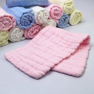 12 couches Couches pour bébés en coton Lavé Gaze Mouchoir bébé Nappy coton respirant Diapers Dedicated Yh9b Classé n