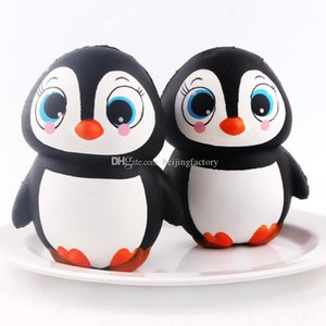 Lovely penguin Squishy penguin Squishies Simulation Food For Key Ring Phone Chain Toys Gifts All Kinds Of Style