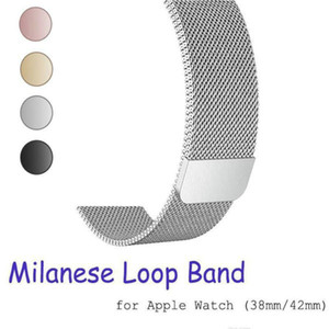 Watchband Metal Steel Watch 1 Milanese Band Loop 38mm Series 4 44mm 2 Iwatch Epacket For 42mm Bracelet Stainless Strap 3 40mm For jlluS
