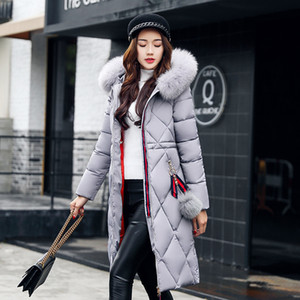 2020 Fashionable Jacket Women's Hooded Warm Parkas Bio ff Parka Coat Hight Quality Female New Winter Collection
