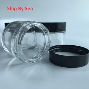 Empty 60ml 3.5G Glass Jars and Jars with stickers Ship by Sea White RUNTZ Pink Rozay OG KUSH
