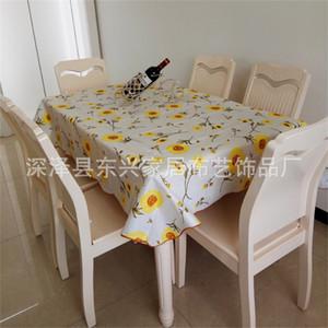 Lattice Flower Stampa Tablecloth Beni domestici Rettangolo circolare PVC POLLICI PLASTICO TÈ TEAK TEAKS MULTICOLOR Nuovo arrivo 11DX J2