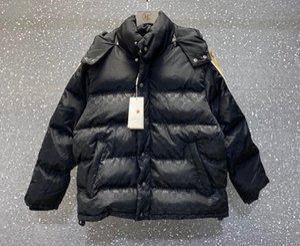 concepteurs homme vêtements en coton vêtements Vestes Splicing poches pour hommes occasionnels sangle réfléchissant manteaux hiver hommes veste noire 05