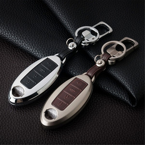 Key Bag Case Holder Shell Cover For Nissan Rogue X-Trail Teana Sylphy Versa Tiida Sentra 370Z Murano Pathfinder Accessories 4 Buttons