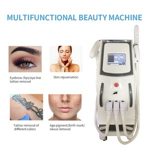 New Designed Multifunctional 3 In1 beauty machine for Tattoo removal&Hair removal&Skin Rejuvenation OPT IPL SHR+Nd Yag laser+RF for salon