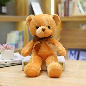 Promotional Gift Plush Toys 45CM Teddy Bear With Scarf Plush Dolls Girl's Favorite Gift Child Festival Best Gift