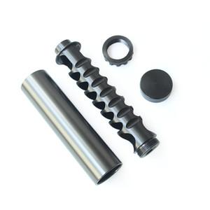 RASTP-1 / 2-20 1/2-28 5/8-24 10Inch Einzelkern Aluminium Spirale Kraftstofffilter Lösungsmittelfalle für NAPA 4003 WIX RASTP OFI022