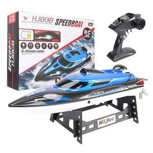 Premium Quality HJ808 RC Boat 25 kmh 2.4G ad alta velocità da corsa di telecomando Nave Acqua Speed Boat bambini Modello regalo Kids Toy