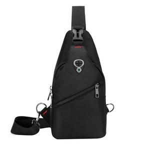 Casual trend Multifunction Unisex shoulder bag crossbody bag high quality waterproof Oxford Unisex simple handbags
