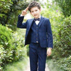 Boys Suits For Weddings Kids Blazer Suit For Boy Costume Enfant Garcon Mariage Jogging Garcon Blazer Boys British styleTuxedo awtW#