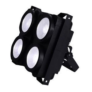 4x100W alta calidad 400W 4 Ojos DMX etapa luz COB 2IN1 de Warmwhite / coolwhite LED público de teatro Luces del estudio LED de luz Blinder