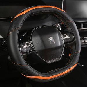 New Luxury Car Lenkradbezug Peugeot 4008 5008 508LSpecial für Peugeot D-Flachwagen Ledersitzkissen Auto-Zubehör