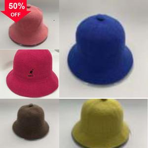 Bowler ile Saf Yün Şapka Ladys Bow Büyük şapka maske balıkçı 6piHf Hat kangurular kış Cimri Sonbahar Brim Brim Küçük Ladys StyleEn Caps beret