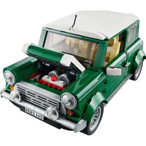 AIBULLY 1108PCS YIER 002 Série Technic Mini Cooper Mk VII Kits de modèle Blocs Briques Jouets pour enfants Cadeau 10242 1008