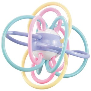 Handball Ball Baby Toy Teether Molar Stick Maternal and Child Supplies Rattles LJ201113