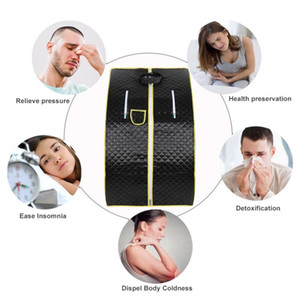 Portable Therapeutic Steam Sauna Home Sauna Generator Slimming Household Sauna Box Ease Insomnia Stainless Steel Pipe SupportRab