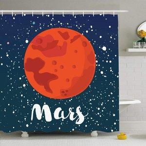 دش الستار مع مجموعة خطاف 72x72 الخارجي سكاي المريخ غلوب السطحية أندروميدا العلم الأحمر ديسكفري نجوم ستار كوزموس الطبيعة