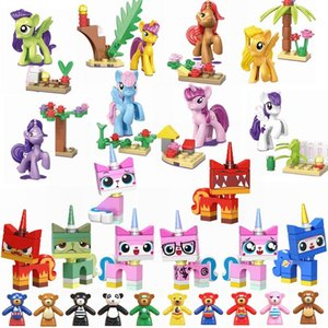 Cat For Horse Bear Assemble Gifts Kids Toys Cute Figures Children Limited Locking Building Kits Friends Toy wmtMFm xhlove