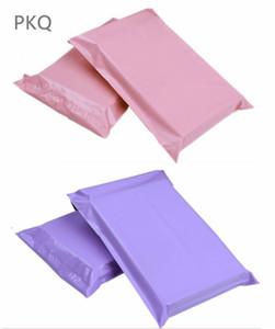 Çanta Posta 100pcs 17 * 30cm Kullanılabilir Boyut 17 * 25cm Çok renkli Poly Kabarcık Postaları PE Plastik Yastıklı Zarf Kargo Poşetleri