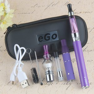 Original 4 in 1 EGO T Vape Pen Batery with EVOD Vaporizer Thick Oil Wax Dry Herb 1100mAh UGO Mini Starter Case Kit