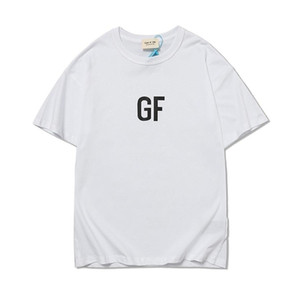20SS FOG Fear of God ESSENTIALS Tee loose casual sports Top round neck short sleeve T-shirt men and women 100518-05+1