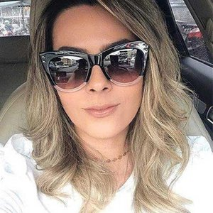 Q Zyomy Brand Designer Vintage Cat Eye Ojo Gafas de sol HD Lentes Retro Eyewear Gafas Conducción Gafas