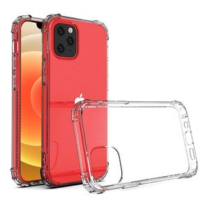 Phone Case Transparent Fashion Cover for iPhone 12 11 Pro Max Mini Shockproof Xiaomi Samsung Cellphone Crystal Shell
