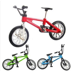 Wholesale creative simulation Mini alloy finger bicycle toy gift