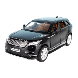 1:32 Scale For Range Rover Velar Diecast Alloy Metal Luxury SUV Car Model Collection Off-Road Vehicle Sound&Light Toys LJ200930