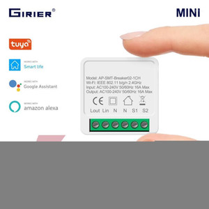 16A Mini Smart Wifi DIY Switch Supports 2 Way Control, Smart Home Automation Module, Works with Alexa Google Home Life App1