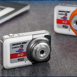 Портативный 1280 1024 Мини-камера высокого Denifition X6 Mini HD цифровая камера карта * Ультра портативный TF Поддержка карт памяти с микрофоном
