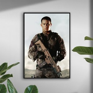 Channing Tatum Gi Joe Poster Canvas Paintings Wall Art Posters Print Pictures for Living Room Home Décor