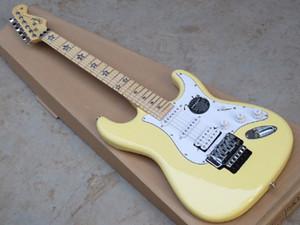 Livraison gratuite 2014 nouvelle guitare électrique ST idéogramme pentagramme à double guitare électrique rouleau