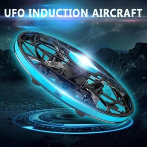 Mini Drone UFO Hand Operated Helicopter Gesture sensing Drone Infrared Induction Aircraft Flying Ball Toys Kids Christmas gifts
