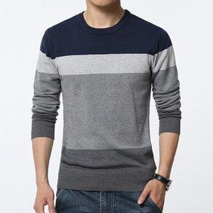 Pullover Männer Pullover Männliche Streetwear Männer Pullover Marke Kleidung Herbst Winter Pullover Casual Striped Pull Jumper