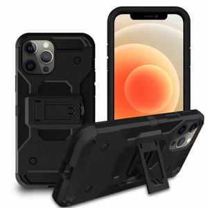 Holster With Clip Belt Cases For Iphone 12 Mini 12 Pro XR XS MAX X 8 7 6 Galaxy S10 S10e Shockproof Armor Hybrid Impact Combo PC+TPU Cover