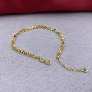 Sinya AU750 18k Reines Gold Phoenix Kettenarmbänder Upscale heißen Verkauf für Frauen Damen Mutter Goldfarbe optional Länge 16 + 3cm 1028
