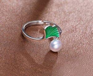+++ 430 6-7mm voll von starkem und hellem Silber Shu Süßwasserperle Ring-Design 0PXc #