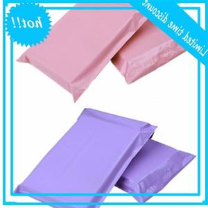 100 adet 17 * 30 cm Kullanılabilir Boyutu 17 * 25 cm Çok renkli Poli Kabarcık Mailer PE Plastik Yastıklı Zarf Nakliye Posta Çantaları