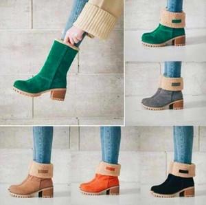 femmes dame chaud bottes bottillons martin australie neige cheville hiver bottes de cow-boy Bottes Chaussons chaussures grande expédition chute size35--43