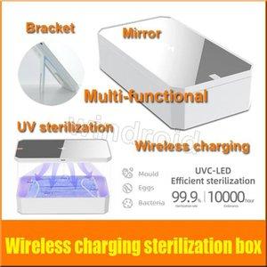Moblie Mask Makeup Sterilization Box Phone Split Wireless Case Многофункциональный CGJX UV Mirr Disinfection Стерилизация Ультрафиолетового зарядки OSDL