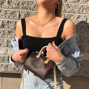 Venda quente 2020 novo design de luxo mulheres mini bolsa melhor qualidade speedy nano bolsa de ombro moda crossbody saco frete grátis