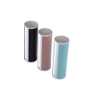 12.1mm empty plastic round shaped Lipstick case lambskin type Lip Balm Tube Empty Plastic Lip NWB2561