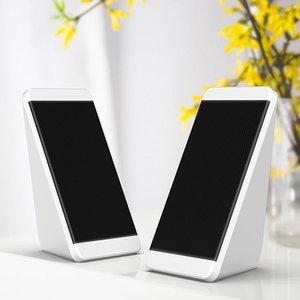 Alta Qualidade S5 USB 5V Mini Subwoofer Speaker com USB 3,5 milímetros de áudio soquete e controle de volume para o portátil / telefone